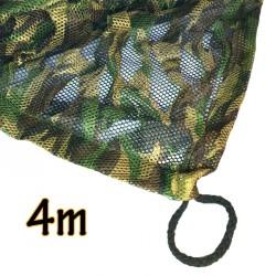 "Filet de camouflage ""ghost"" 3D translucide 4m"