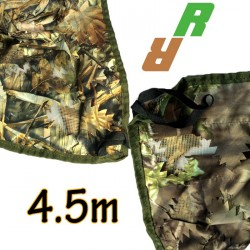 Filet de camouflage 3D réversible 4.5m