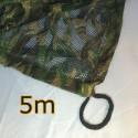 "Filet de camouflage ""ghost"" 3D translucide 5m"