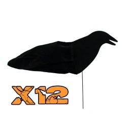 Pack de 12 aéro blette corbeau guetteur