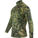 Tee-Shirt Manches longue camo Pixel vert